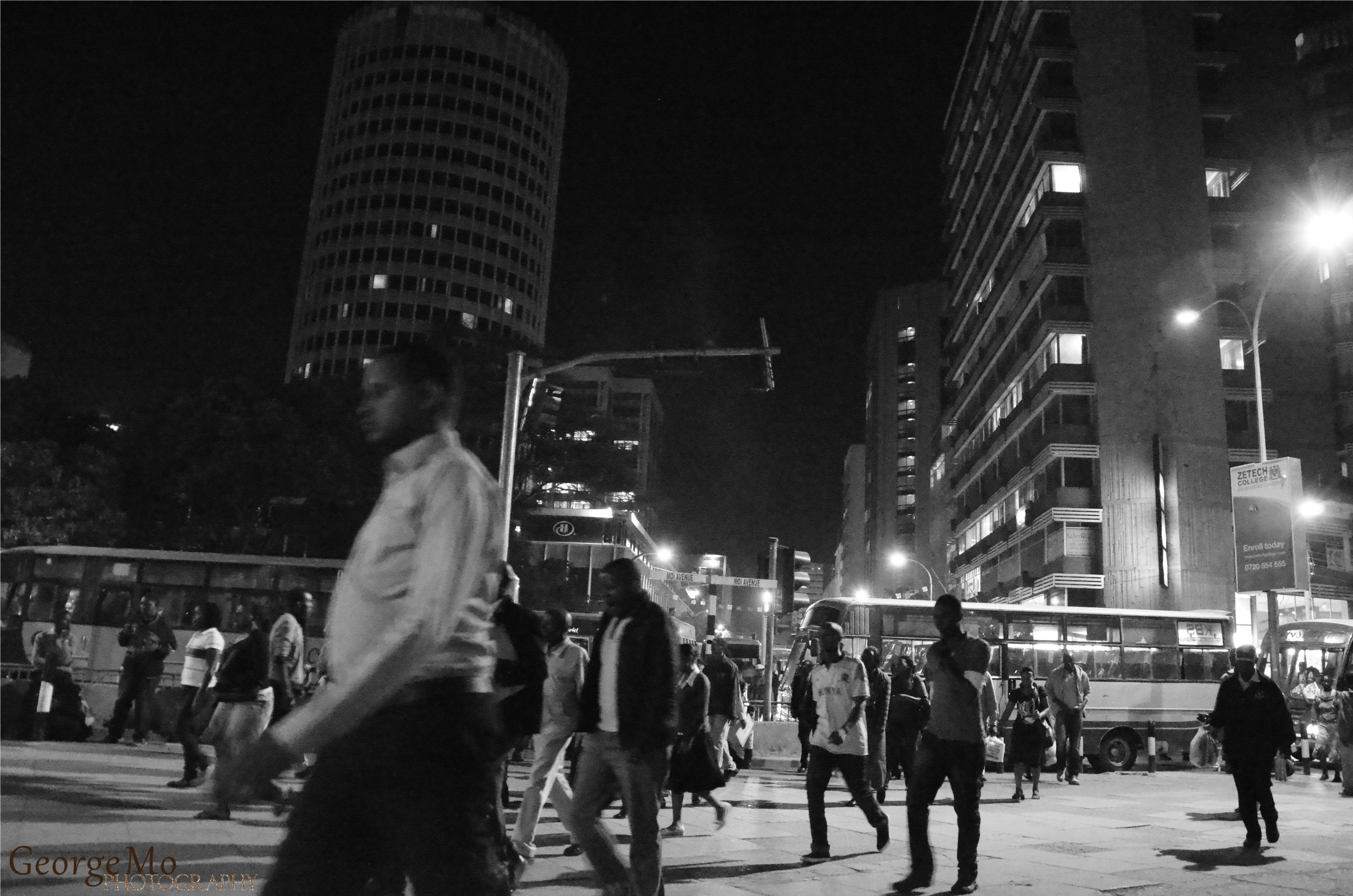 The gallery for --> People Walking On The Street At Night